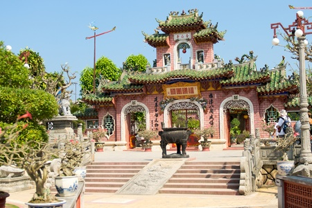 hoi an: Phuc Kien Assembly Hall, Hoi An, Viet Nam Stock Photo