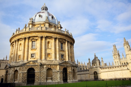 oxford: Radcliffe Camera and All Souls College, Oxford, England