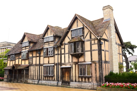 William Shakespeare's Birthplace, Stratford upon Avon, England Stock Photo - 10749122
