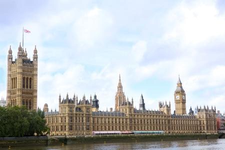sightseeng: House of Parliament and Big Ben, London, United Kingdom Stock Photo