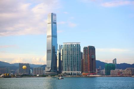 International Commerce Centre and Kowloon skyline, Hong Kong  photo