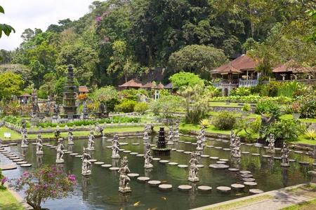 Royal Pools Tirthagangga, Bali island, Indonesia photo