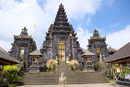 Pura Batu Madeg, Besakih complex, Bali, Indonesia Stock Photo