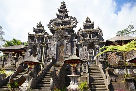 Pura Gelap the highest temple Besakih complex, Bali, Indonesia photo