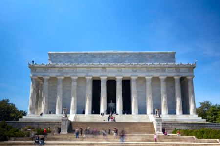 The Lincoln Memorial, Washington DC, USA photo