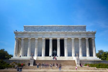 lincoln: The Lincoln Memorial, Washington DC, USA