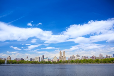 New York City skyline from Central Park photo