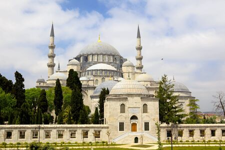 Suleymaniye mosque  Süleymaniye Camii , Istanbul, Turkey photo