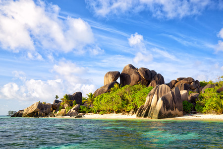anse: Anse Source dArgent Stock Photo