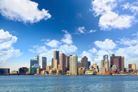 massachusetts: Skyline of Boston downtown, Massachusetts, USA