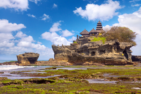 Tanah Lot tempel in Bali Island, Indonesië