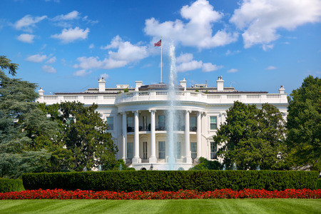 The White House in Washington DC, United States