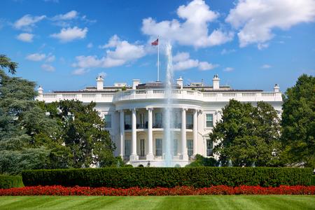 La Maison Blanche à Washington DC, États-Unis Banque d'images - 36453796