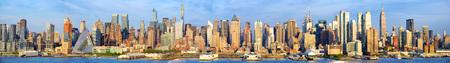 Manhattan Midtown skyline panorama, New York City