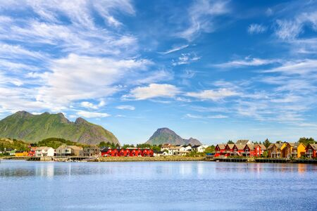 Fishing village Ballstad, Lofoten Islands, Norway
