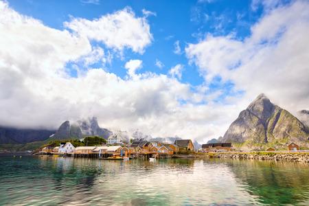 Reine and Sakrisoy fishing villages, Lofoten Islands, Norway