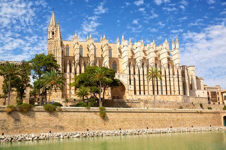 Cathedral Santa Maria in Palma de Mallorca, Spain