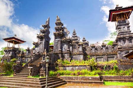 Pura Gelap the highest temple at Besakih complex in Bali, Indonesia Stok Fotoğraf