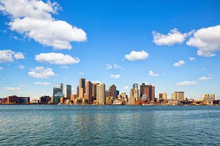 Boston downtown skyline, Massachusetts, US Stok Fotoğraf