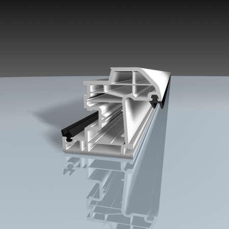 Aluminum Profile - PVC profile