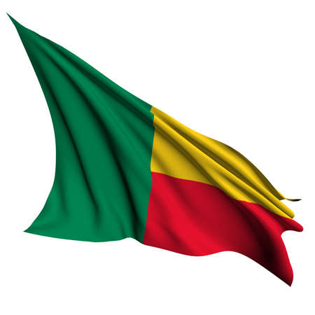 Benin flag- collection no_4  Stock Photo
