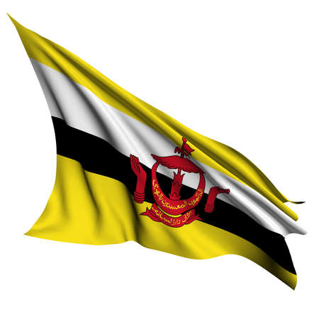 Brunei flag- collection no_4