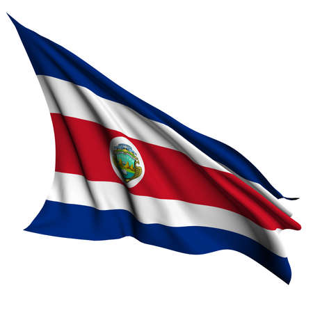 Costa Rica flag- collection no_4