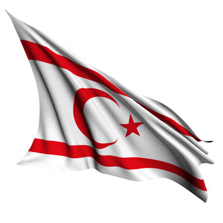 Northern Cyprus flag- collection no_4  Stock Photo