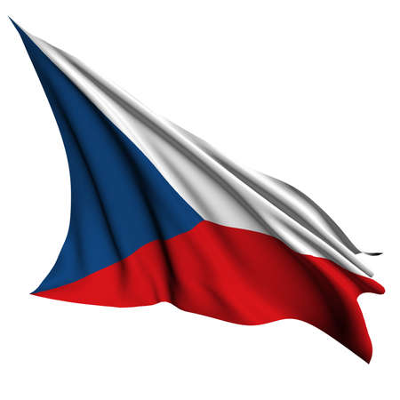Czech Republic flag- collection no_4