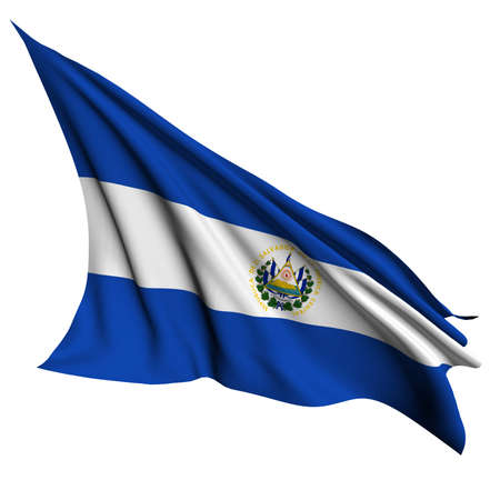 bandera de el salvador: El Salvador flag - colecci�n no_4