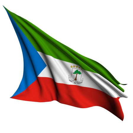 equatorial: Equatorial Guinea flag - collection no_4