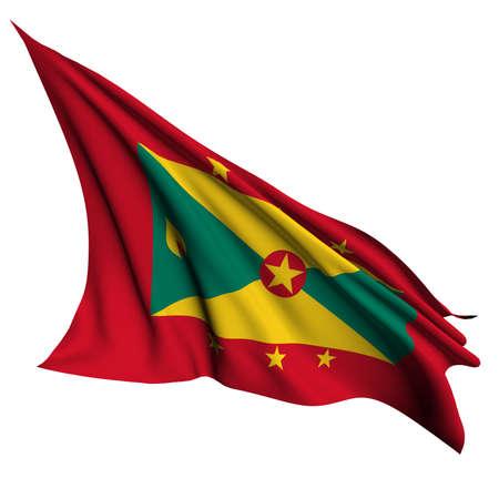 grenada: Grenada flag - collection no_4