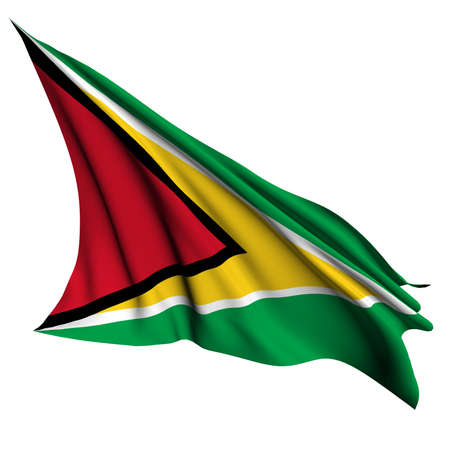 guyana: Guyana flag - collection no_4