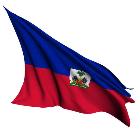 Haiti flag - collection no_4