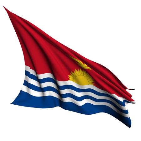 kiribati: Kiribati flag - collection no_4