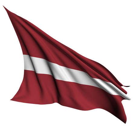latvia: Latvia flag - collection no_4