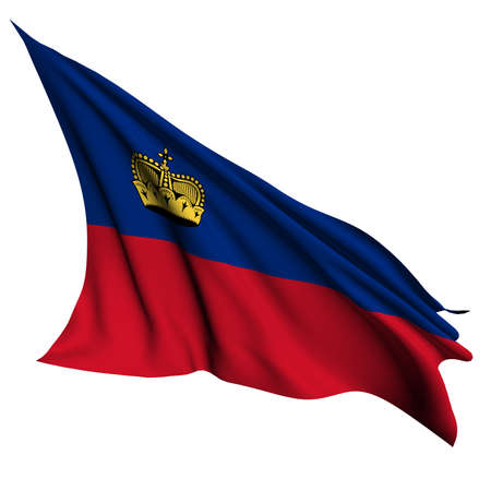 Liechtenstein flag - collection no_4