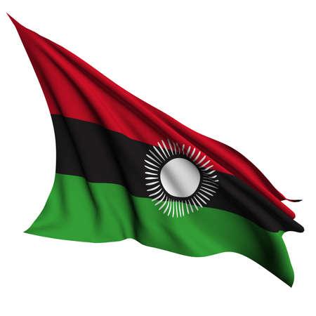 malawi: Malawi flag - collection no_4