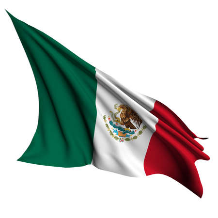 Mexico flag - collection no_4  Stock Photo