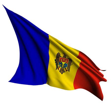 moldova: Moldova flag - collection no_4