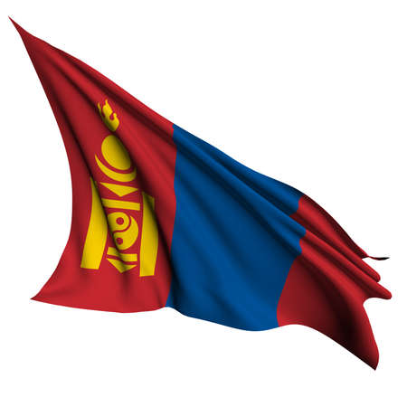 mongolia: Mongolia flag - collection no_4
