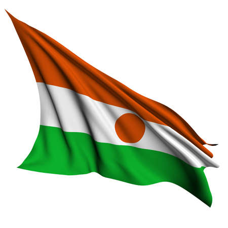 niger: Niger flag  Stock Photo