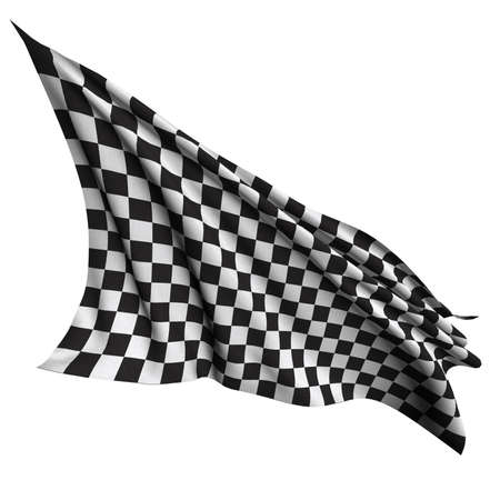 Race flag Checkered flag  photo