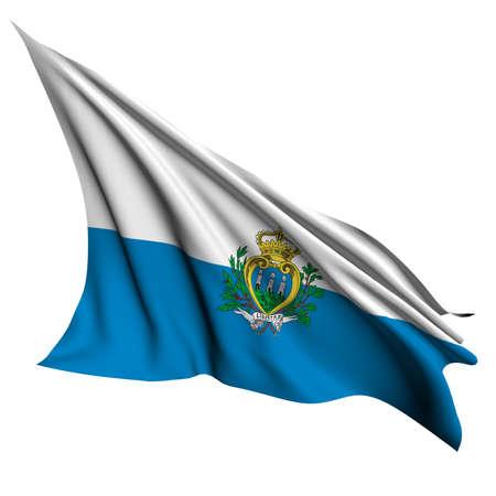 san marino: San Marino flag