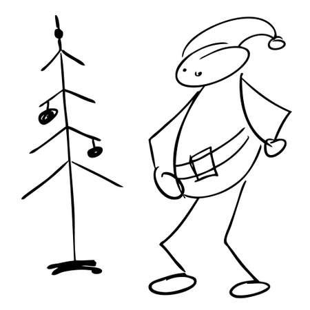 Santa Claus doodle  Stock Vector - 16668465