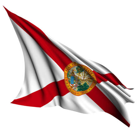 Florida flag - USA state flags collection no_2  Stock Photo