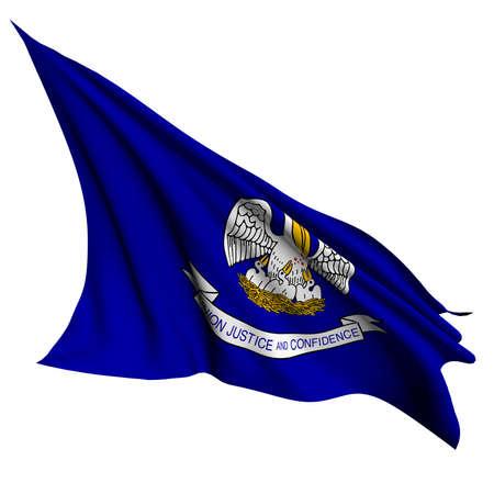 louisiana flag: Louisiana flag - USA state flags collection no_2