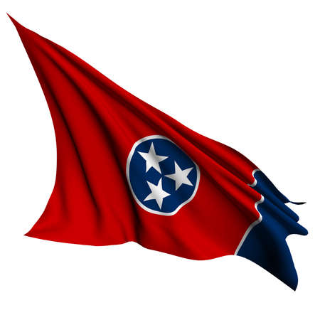 Tennessee flag - USA state flags collection no_2