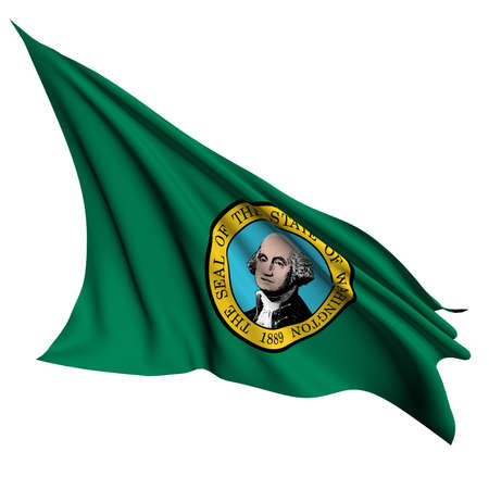 Washington flag - USA state flags collection no_2  photo