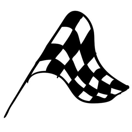 Race flag doodle Stock Vector - 17508954